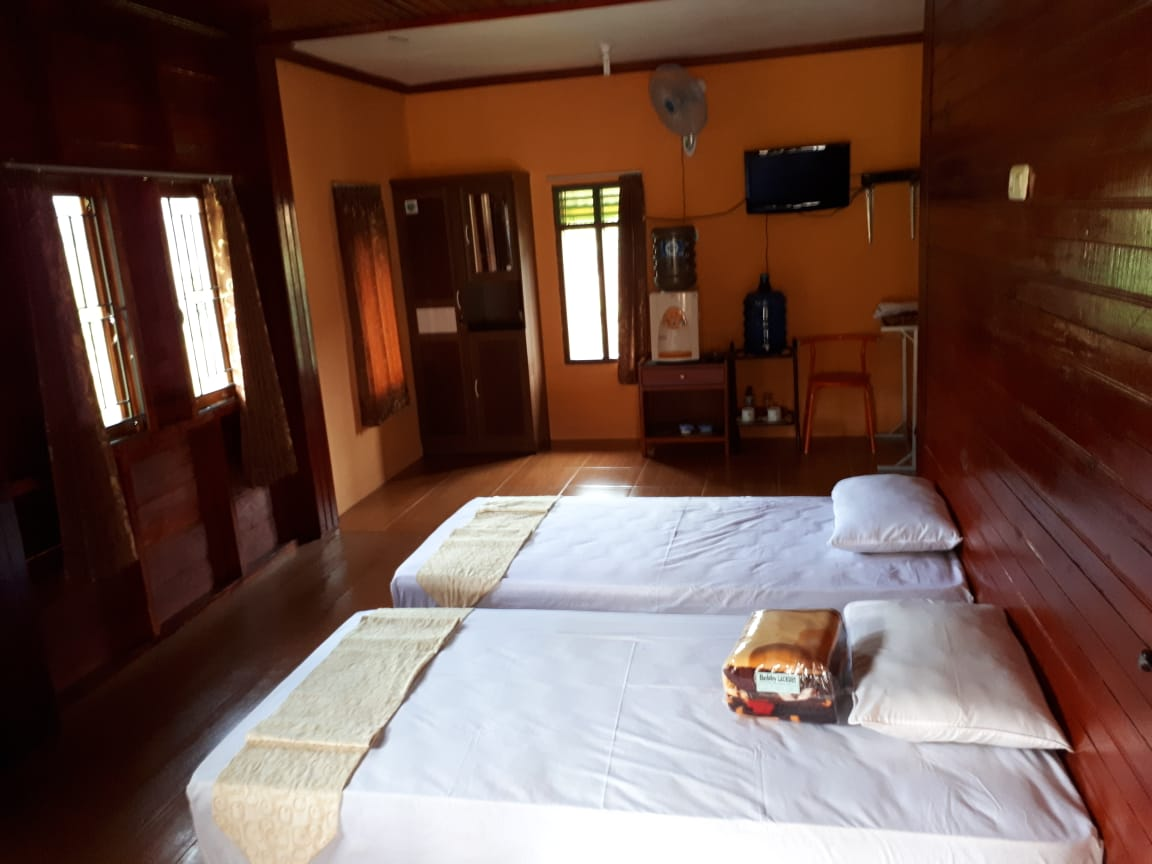 Kamar Tidur Penginapan Harau Single Bed
